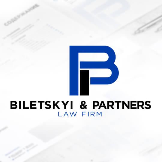 Сайт компанії Biletskyi & Partners