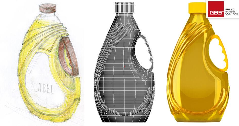 Розробка концепції дизайну ПЕТ пляшки для соняшникової олії ТМ Salima від GBS Brand Expert Company